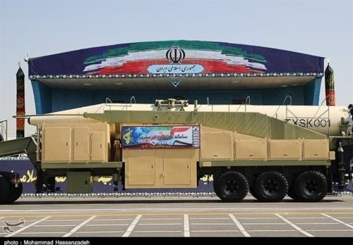 Khorramshahr Missile (Src. Wikimedia Commons)