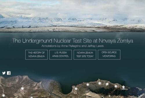 Screenshot of The Underground Nuclear Test at Novaya Zemlya
