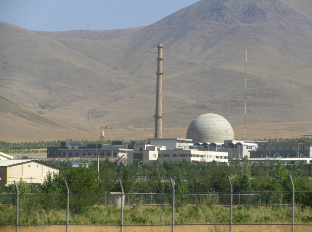 Arak IR-40 Heavy Water Reactor, Iran. (Src. Wikimedia Commons)